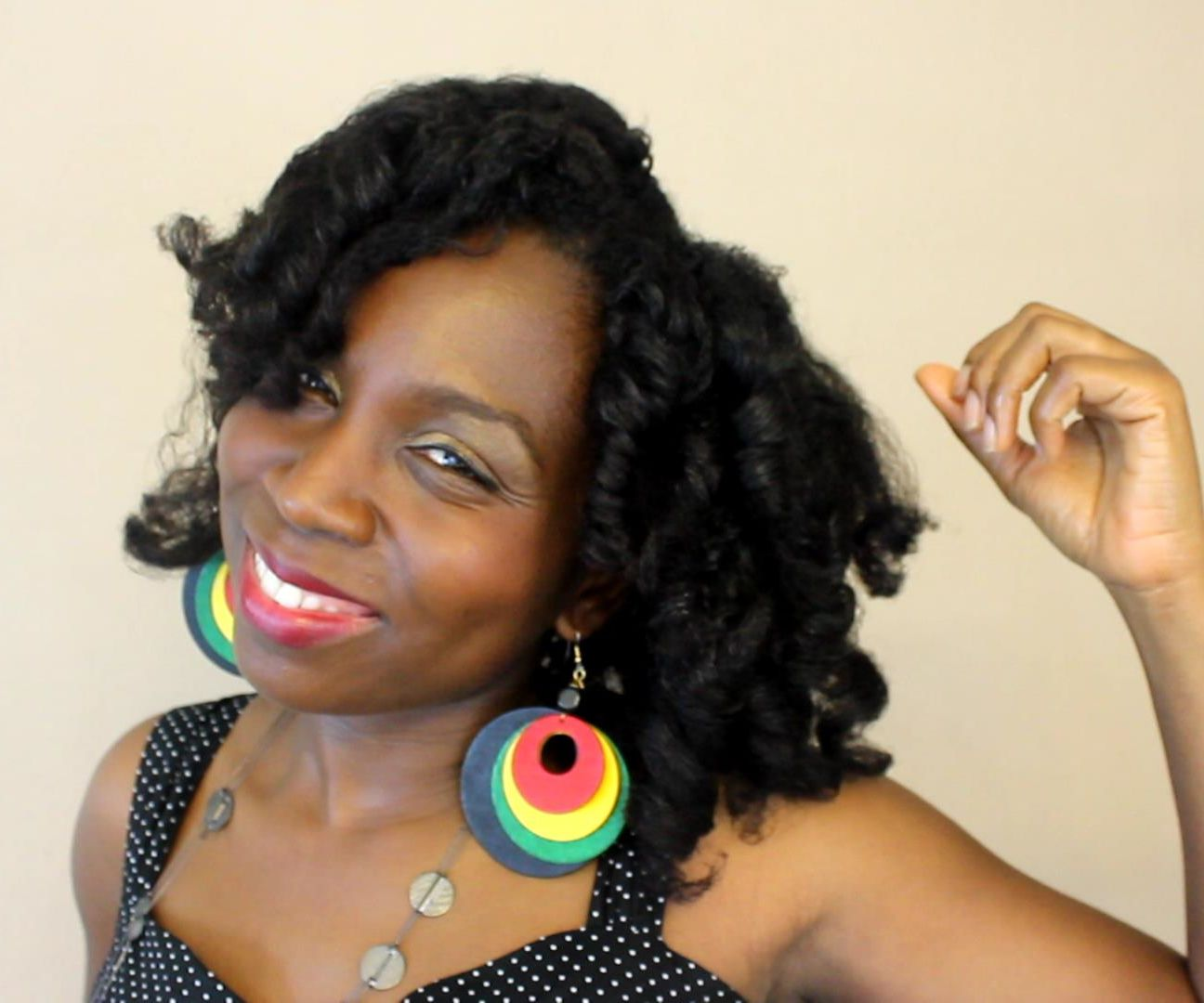 Creating Bouncy Curls; the Quick Way