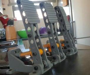 E-Sim Racing Pedals