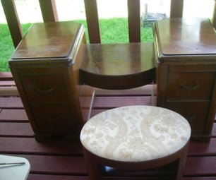 Cleaning and Restoring an Antique Finish