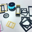 3D Printed Mini Looms