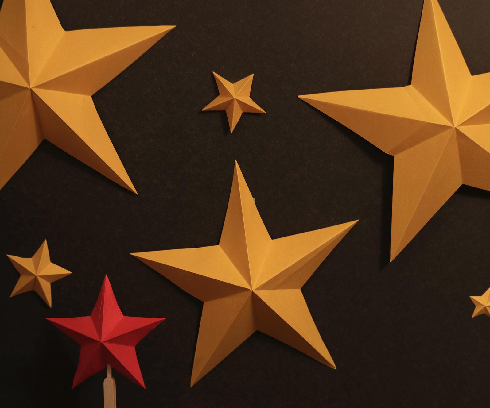 How to Make Simple Kirigami Stars