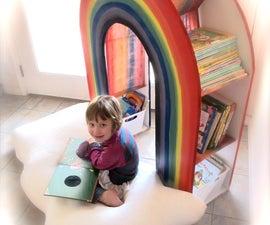 "Build a ""READING RAINBOW"" Book Shelf"