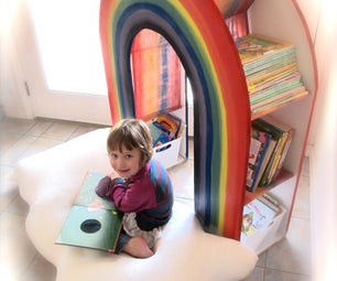 "Build a ""READING RAINBOW"" Book Shelf"