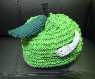 Knit Apple Hat
