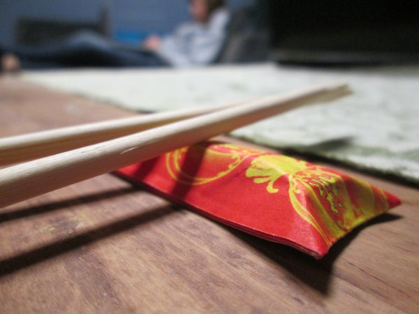 Origami: Turning Your Chopstick Wrapper Into a Tray at Asian Restaurants