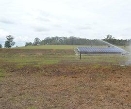 建立一个用于抽水,农业灌溉和库存浇水的太阳系,27步