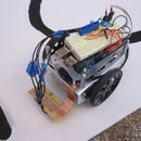 Boe Bot/Arduino line following robot