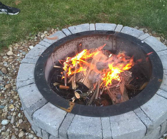 How to make a camp fire 2.0