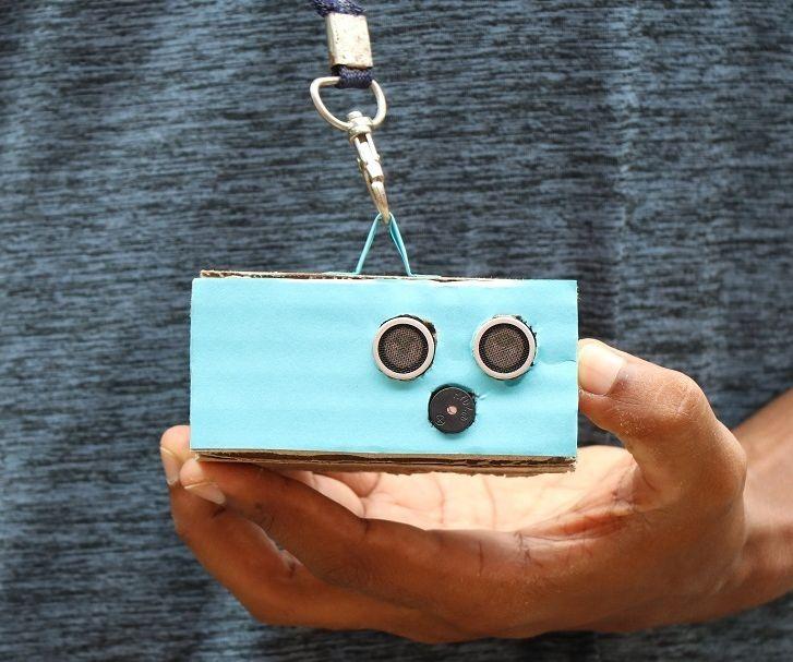 Social Distance Alarm Using Arduino Nano