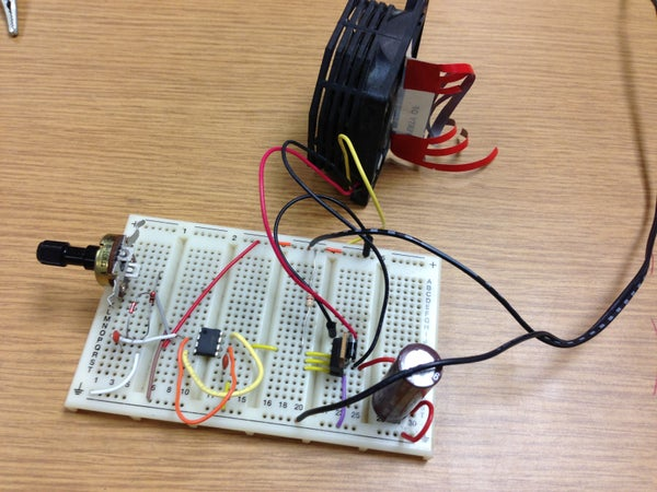 555 DC Motor Speed Control