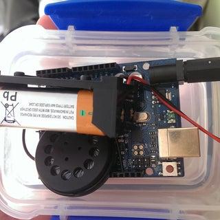 """Arduino """"Annoy-a-tron!"""""""
