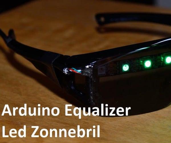 Arduino Equailizer Led Zonnebril