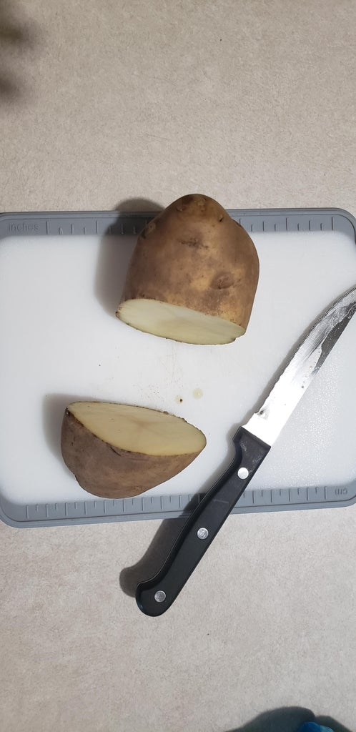 Hollowing Out the Potato