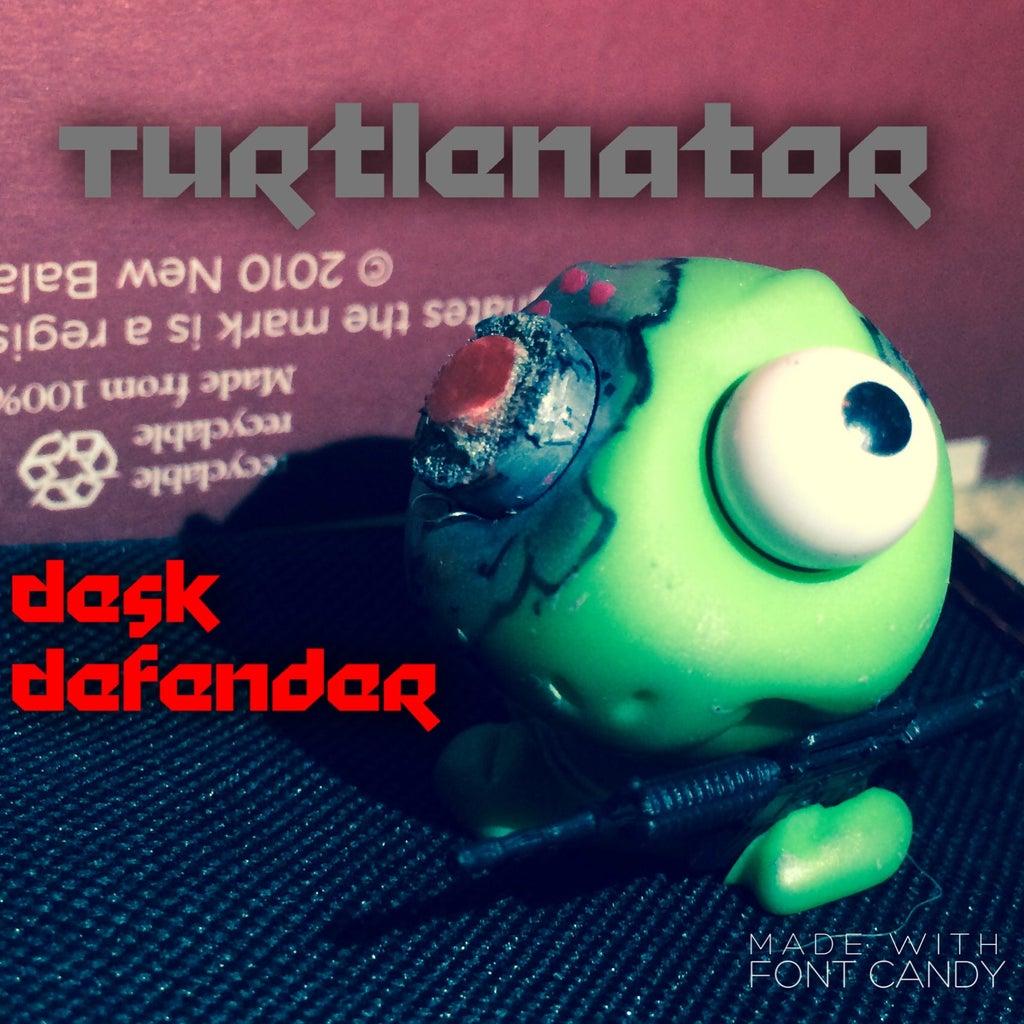 Turtlenator Desk Defender