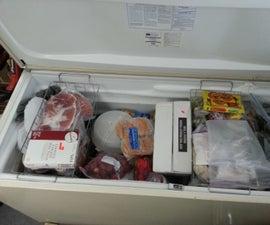 Tri Level Chest Freezer Organizer