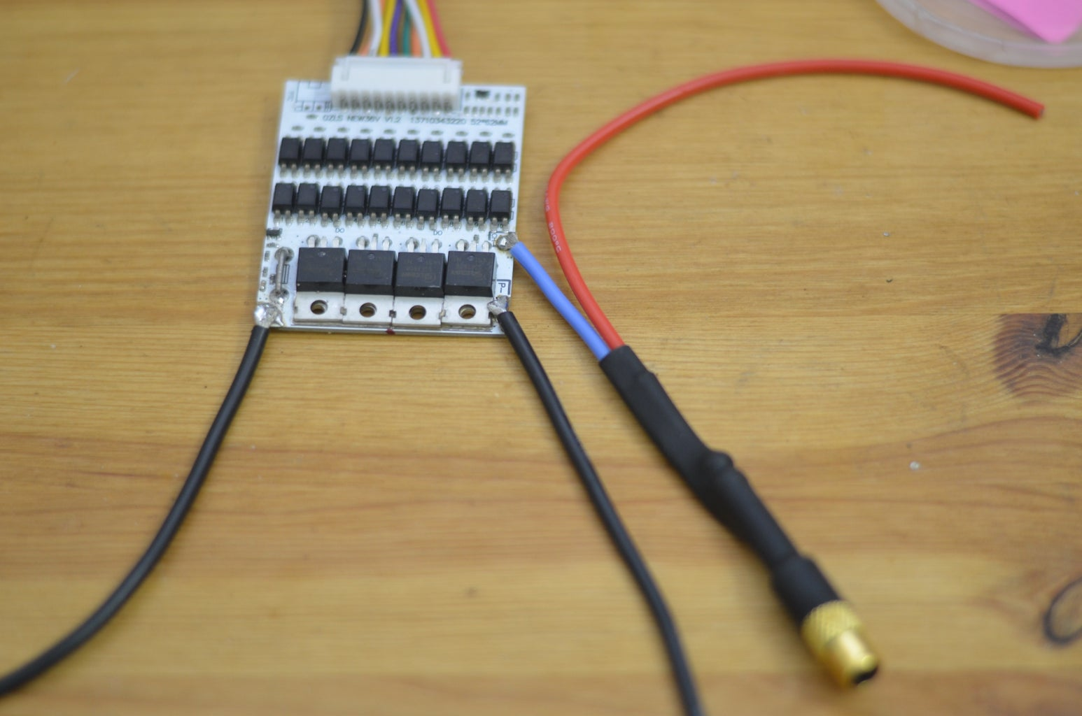 Connect Wires to the BMS