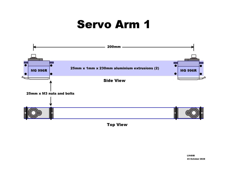 Servo Arm 1