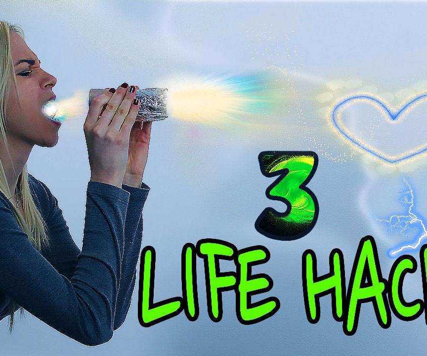3 LIFE HACKS / Valentine's Day Hacks