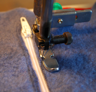 Sew in the Zip