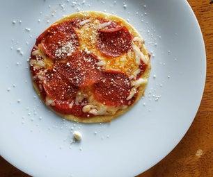 5 Minute Stove Top Tortilla Pizzas