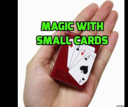 How to Do Magic Trick With Small Cards