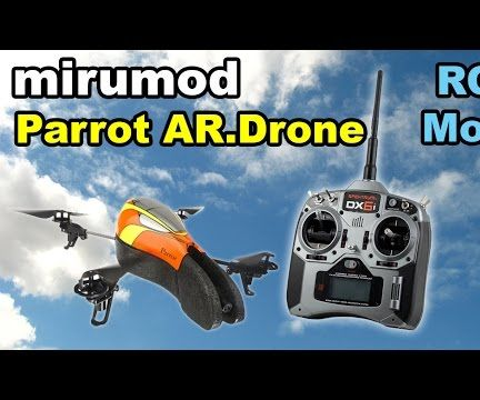 Parrot AR Drone mirumod - RC transmitter mod howto guide