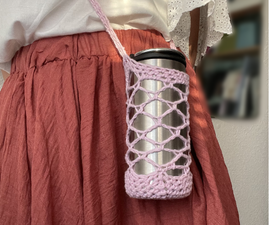 Crochet a Water Bottle Holder to Match Your Style!