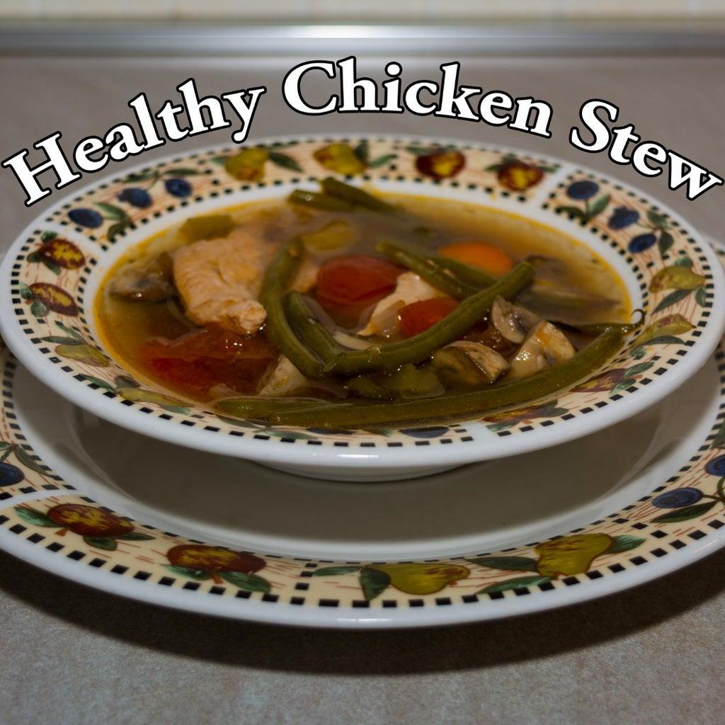 Tasty Moist Chicken Stew Slow Cooked