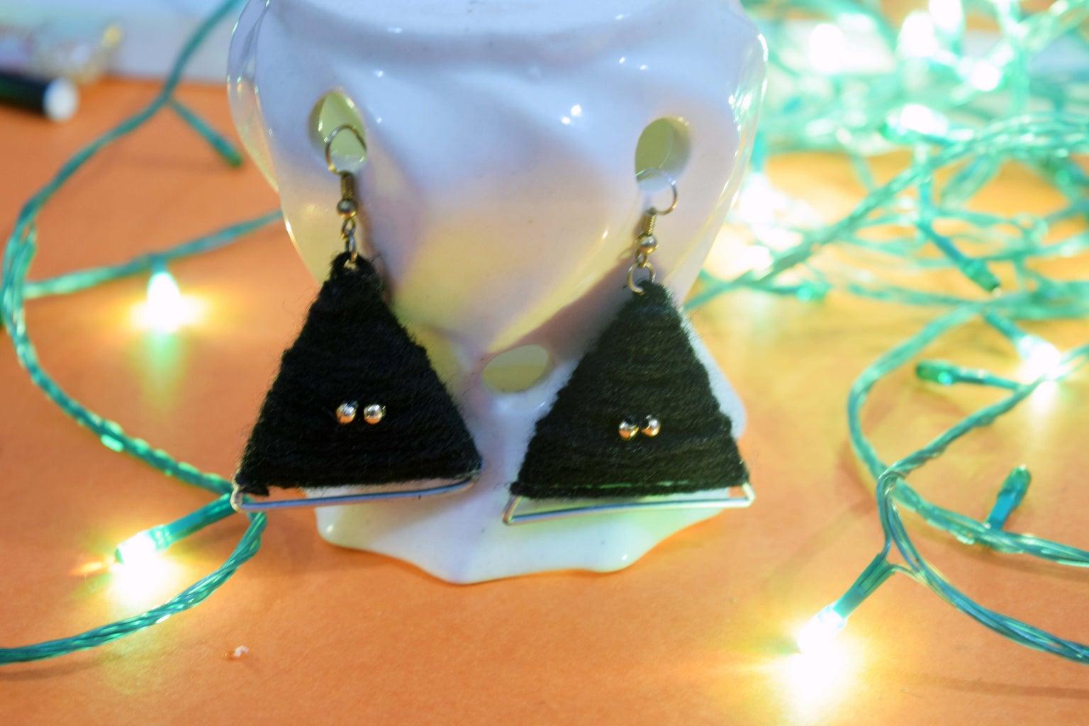 DIY Yarn Jewelery