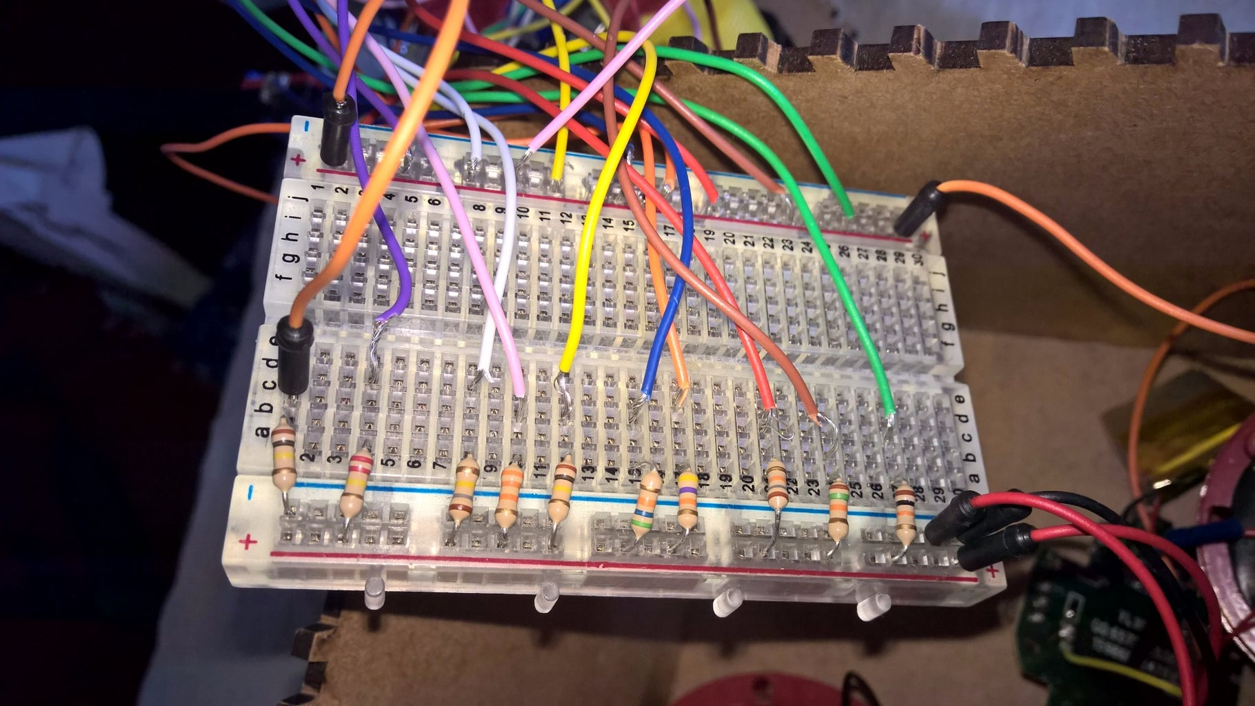 The Buttons Wiring