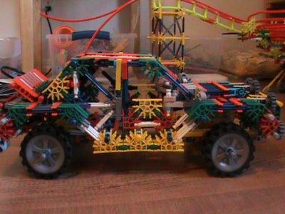 Knex Rally Car SS