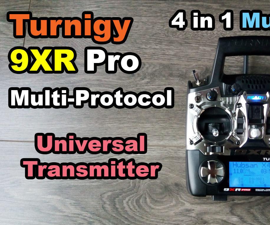 Turnigy 9XR Pro: 4in1 multi protocol module all in one radio transmitter