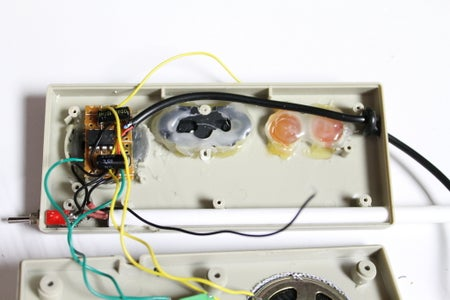 Attaching the Speaker and Potentiometer Wires
