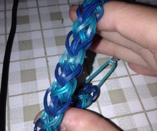 Rainbow Loom Diamond Pattern Bracelet