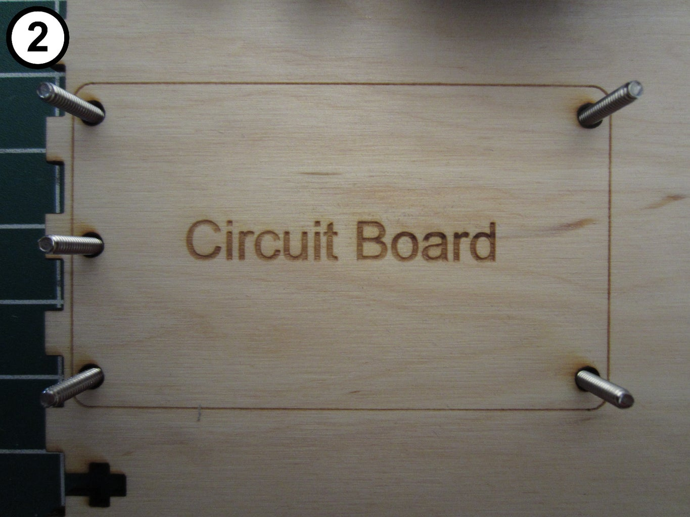 Attach the Circuit Board to the Bottom Panel