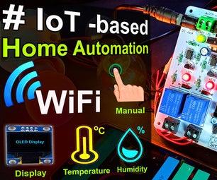 如何使用Nodemcu传感器控制继电器制作基于IOT的家庭自动化