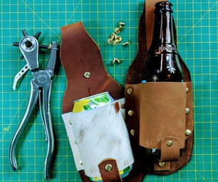 Make Your Own Leather Drink Holster