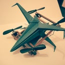 X-Wing Voice Control Drone Star War