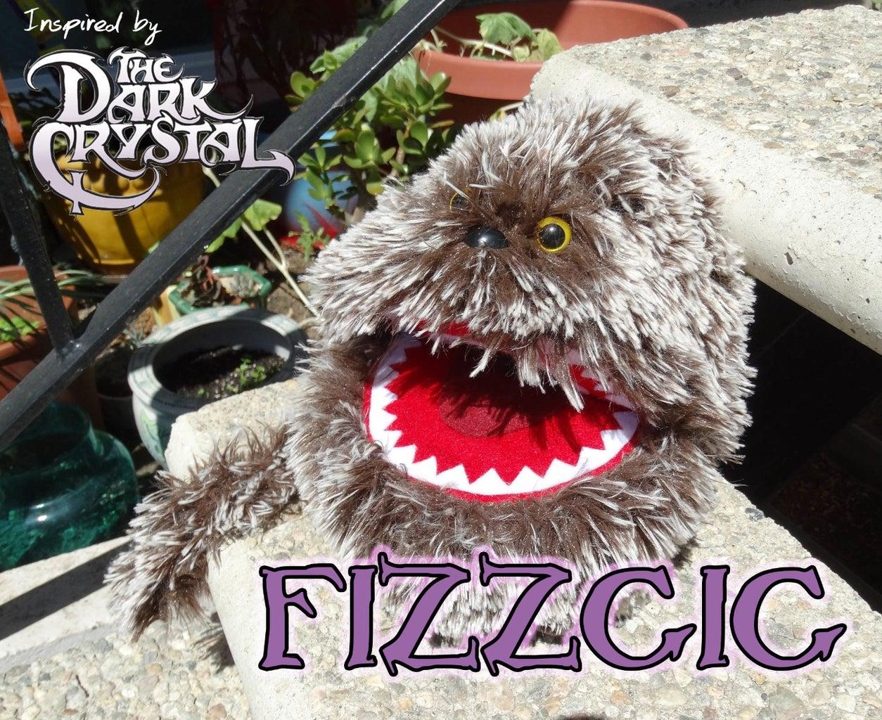 Dark Crystal Fizzgig Inspired Puppet