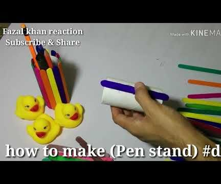 How to Make Pen Stand Diy#