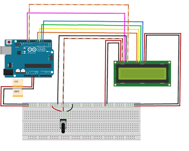 Connect LCD