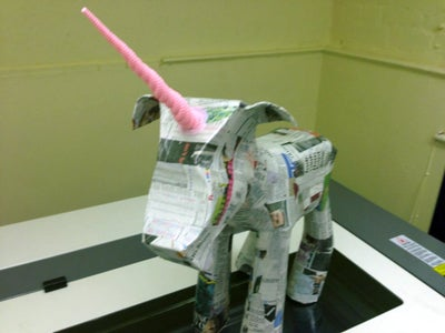 Layer Up the Paper Mache Layers