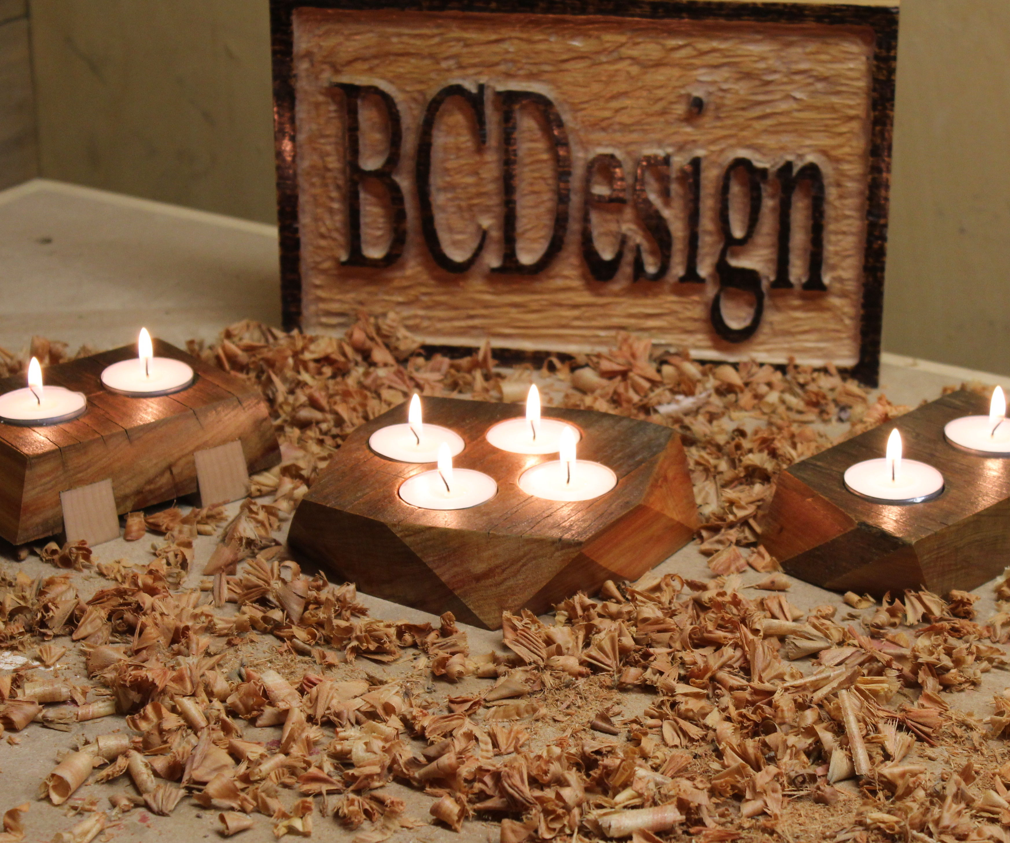 DIY Tealight Candle Holders (video)