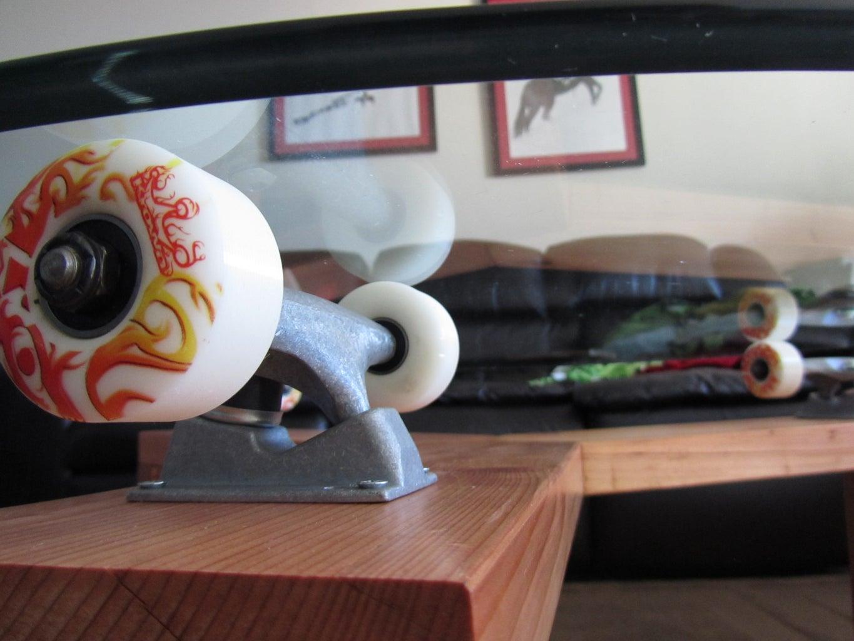 Skateboard Table