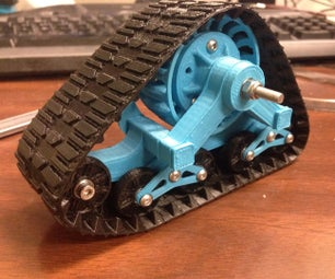 3D Printed MatTracks for RC Car in 1/10 Scale
