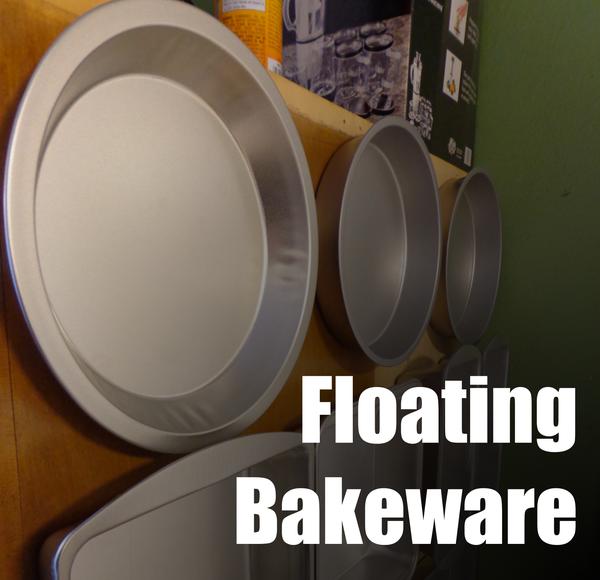 Kitchen Hacks - Floating Bakeware