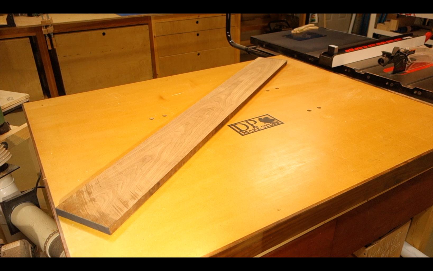 Wood Selection and Prep