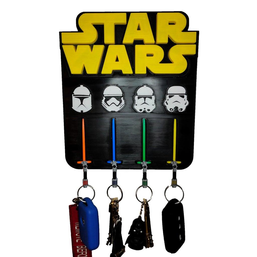Star Wars Key Holder Using Tinkercad