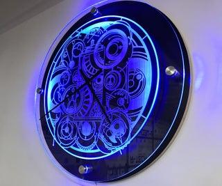 Making a Custom Dr. Who Inspired LED Clock