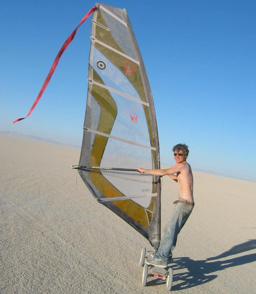 Desert Windsurfing
